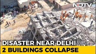 3 Dead In Building Collapse Near Delhi, Children Feared Trapped - NDTV