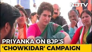 """The Rich Have Chowkidar, Farmers Don't"": Priyanka Gandhi's Dig At PM - NDTV"