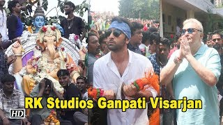 BIGGEST RK Studios Ganpati Visarjan with the Kapoors - IANSLIVE