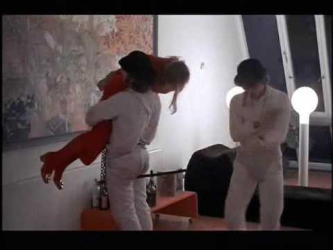 A Clockwork Orange Break in Scene Warning Graphic