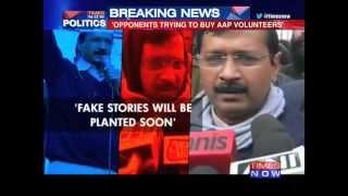 Kejriwal's fresh charge ahead of polls - TIMESNOWONLINE