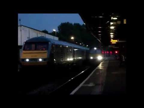 Direct Rail Services Class 66 Tesco Train at Stourbridge Junction.