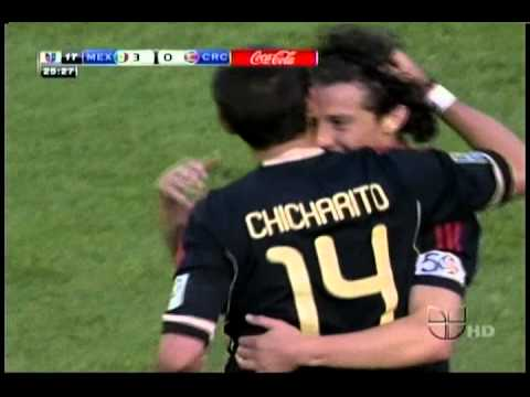 Mexico vs. Costa Rica 2011 Copa Oro 4-1 All Goals and Highlights 6/12/11 HD