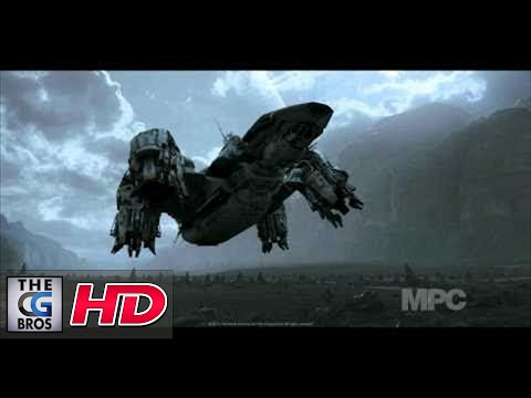 CGI VFX Breakdowns HD: Prometheus Landing by MPC