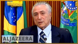 🇧🇷 Brazil's ex-President Michel Temer denies corruption charges after arrest l Al Jazeera English - ALJAZEERAENGLISH
