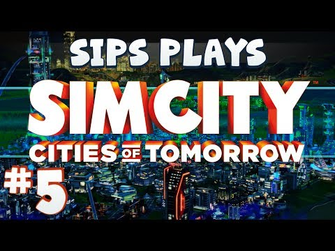 Simcity - Cities of Tomorrow (Full Walkthrough) - Part 5 - Mega Tower Power
