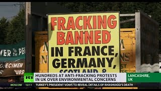 'Fracking Three' released as judge slams original ruling as 'manifestly excessive' - RUSSIATODAY