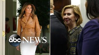 Melania Trump issues rare public attack against WH aide - ABCNEWS