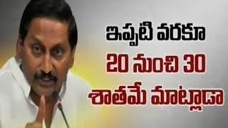 CM Kiran Formula Against T Bill - TV5NEWSCHANNEL