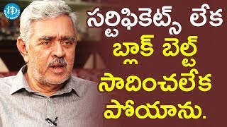 Madhu Babu About How He Learnt Karate || Dil Se With Anjali - IDREAMMOVIES