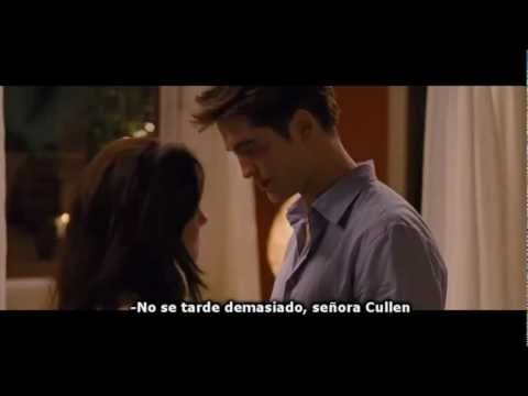 "Breaking Dawn (Amanecer) Clip ""Don't Take Too Long Mrs. Cullen"" Subtitulado"