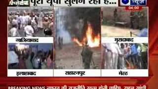 Curfew in Saharanpur after communal clash, 2 dead - ITVNEWSINDIA
