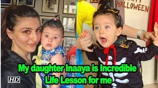 Soha says My daughter Inaaya is Incredible Life Lesson - IANSLIVE