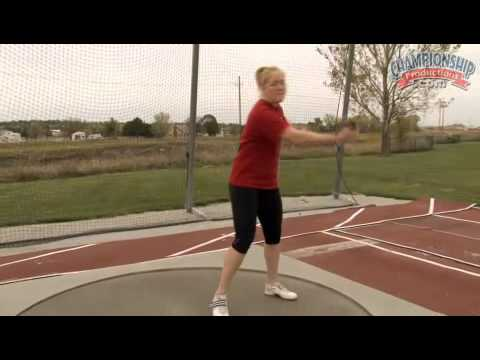 Becoming a Champion: Discus for Girls' Track & Field