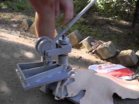 Ручной пресс для вырубки картона своими руками