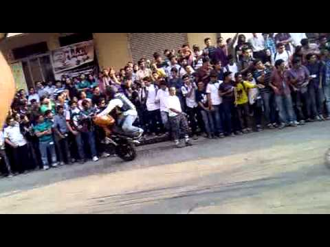 K.J.S.C.E Bike Stunts
