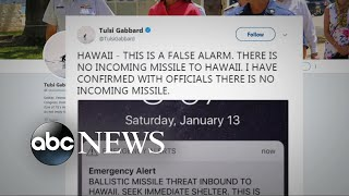 Hawaiians panic after false missile warning alert - ABCNEWS