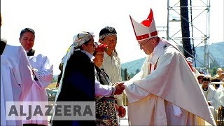 🇨🇱 Chile: Pope Francis calls on Mapuche to shun violence - ALJAZEERAENGLISH