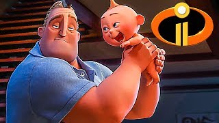 INCREDIBLES 2 Trailer ✩ (Animation, Kids Family Movie 2018 - FILMSACTUTRAILERS