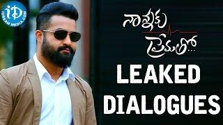 Nannaku Prematho Leaked Dialogues – Jr NTR