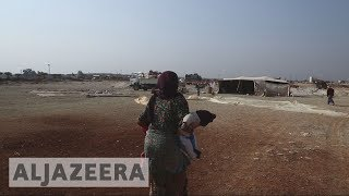 Exclusive footage: Displaced Syrians attacked at a makeshift camp - ALJAZEERAENGLISH