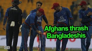 Asia Cup 2018 | Afghanistan thrash Bangladesh by 136 runs - IANSINDIA