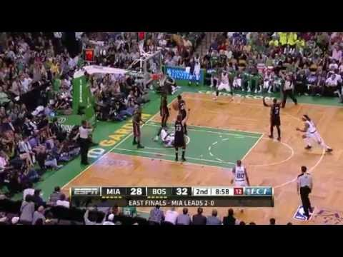 NBA Playoffs 2012 Miami Heat vs Boston Celtics Game 3 Highlights