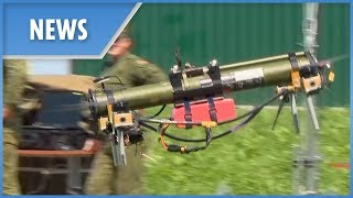 Rocket launcher DRONE! - THESUNNEWSPAPER