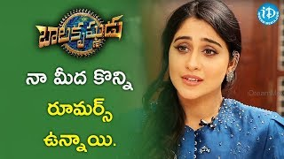 There Are Very Few Rumours About Me - Regina Cassandra || #Balakrishnudu || Talking Movies - IDREAMMOVIES