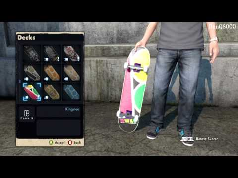 Skate 3: Hawaiian Dream DLC HD Gameplay Part 11 - New Gear & Review