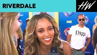 Vanessa Morgan Reveals Her Favorite Riverdale Episode! | Hollywire - HOLLYWIRETV