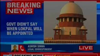 Government files reply on lokpal's appointment; didn't give any time frame to SC - NEWSXLIVE