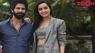 Shahid and Shraddha in their simple and classy look | Style Today - ZOOMDEKHO