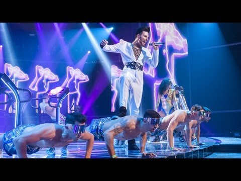 Rylan Clark sings a Duran Duran/Bros Medley - Live Week 7 - The X Factor UK 2012