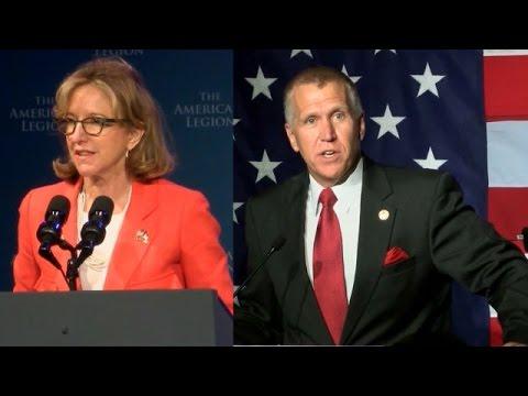 NC Senate Debate: Kay Hagan and Thom Tillis