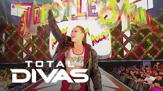Total Divas | Ronda Rousey Makes Her WWE WrestleMania Debut | E! - EENTERTAINMENT