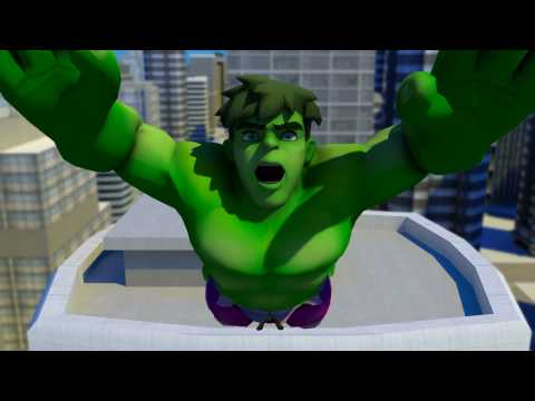 Marvel Super Hero Squad The Infinity Gauntlet - DS | PS3 | Wii | Xbox 360 - debut game trailer HD