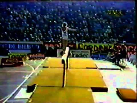 Daniela Silivas BB 1984 Blume Memorial gymnastics