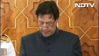 पूर्व क्रिकेटर और PTI प्रमुख इमरान खान ने ली प्रधानमंत्री पद की शपथ - NDTVINDIA