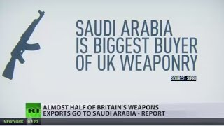 Almost half of Britain's weapons exports go to Saudi Arabia - report - RUSSIATODAY