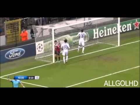 Goal Pato vs Anderlecht | 21/11/2012 | Champions League 2012-2013 | HD