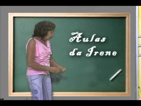 Aulas da Irene - 10 de julho de 2011 - Criadores @kekeissonatv