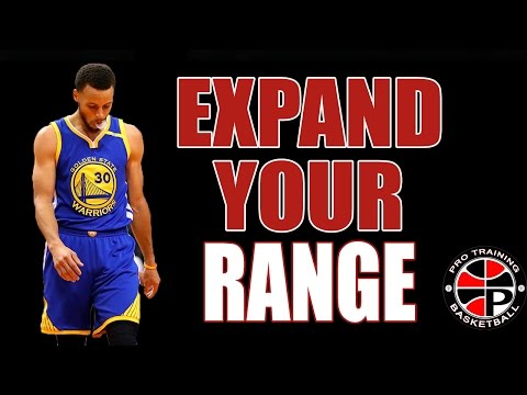 Top 3 Ways To Expand Your Shooting Range | Pro Training Basketball