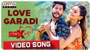 Love Garadi Video Song || RDXLove Songs || Payal Rajput, Tejus Kancherla || Radhan - ADITYAMUSIC