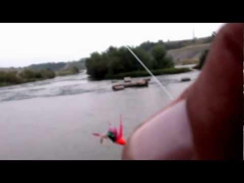 Pescuit la oblete cu muste artificiale Udeni