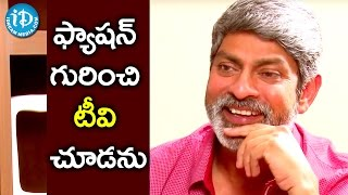 I Don't Watch TV And Google For Fashion Tips - Jagapathi Babu || Talking Movies With iDream - IDREAMMOVIES