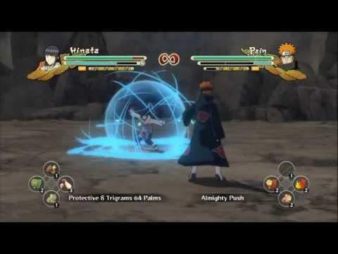 Naruto Storm 3 - Hinata vs. Pain
