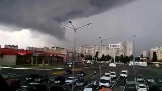 Торнадо в Харькове 26.06.2015
