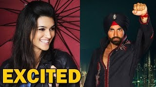 """Kriti Sanon excited to work with Akshay Kumar in """"Singh is Bling"""" Movie! 