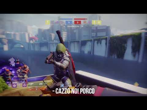 Destiny 2 - COMPETITIVE MATCH - When the team works well, but you are the bait.